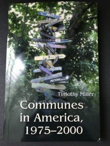 Book cover Timothy Miller's Communes in America
