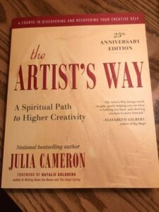 Photo of cover of book by Julia Cameron
